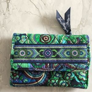 Vera Bradley Quilted Paisley Wallet